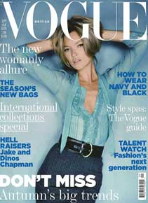 British Vogue September 2005