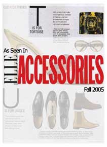 Elle Accessories Fall 2005